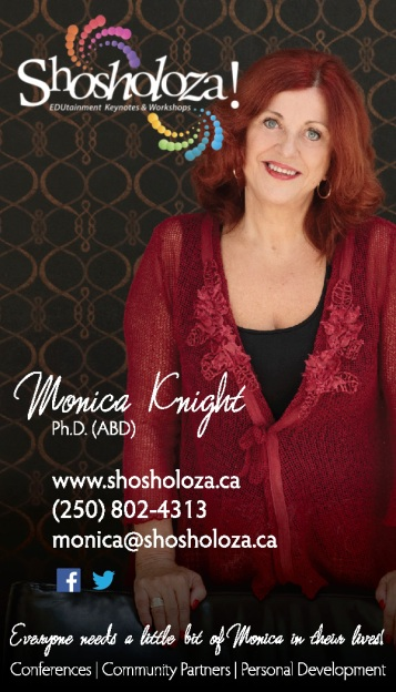 Moncia Knight: business cards