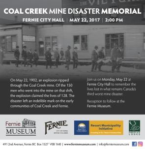 Fernie Museum: Memorial ad