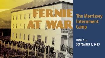 fernie at war: the morrissey internment camp