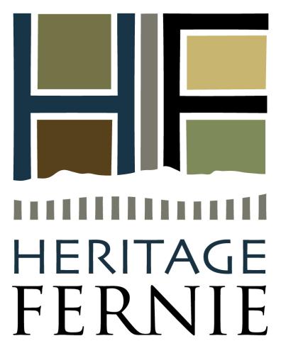 Heritage Fernie: vertical logo