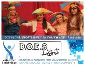 Volunteer Lethbridge D.O.E.S. Light postcard front