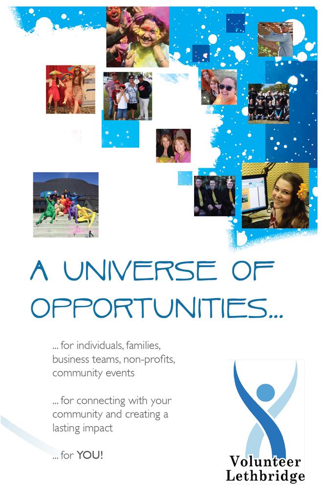 Volunteer Lethbridge brochure front