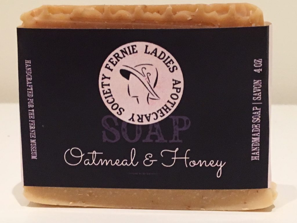 Trites & Wood Fernie Lady Apothecary Society Oatmeal & Honey Soap