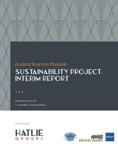 AAM Sustainability Project Interim Report_cover